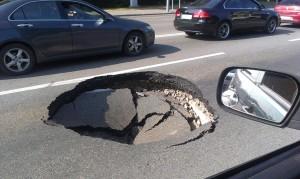 Плохое качество дорог – как обезопасить автомобиль от поломки