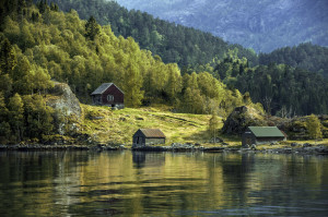 Северная красавица Норвегия