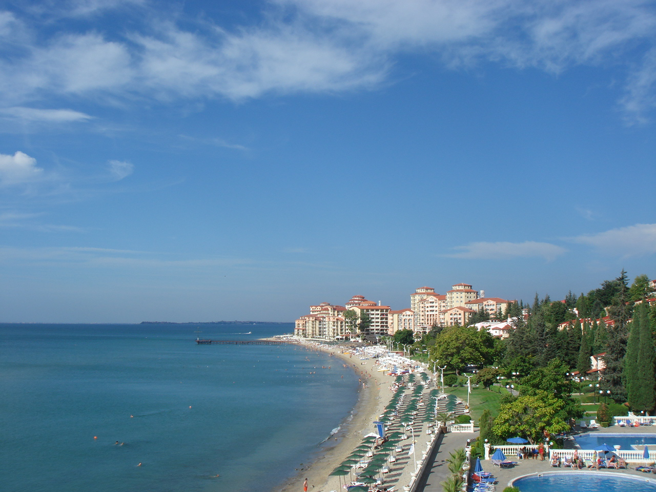 Солнечный берег Болгарии