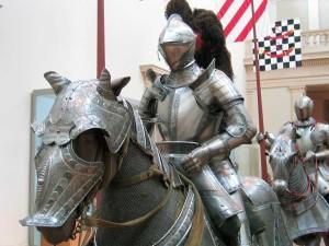 Средневековая армия в походе