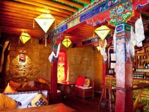 Тибетский интерьер