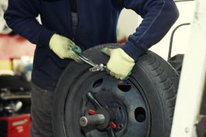 Важный процесс — балансировка колёс