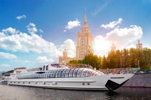 Водные экскурсии по Москве-реке