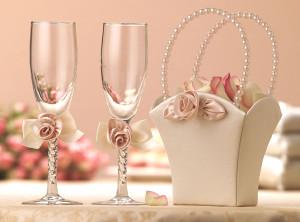 Выбираем свадебные бокалы