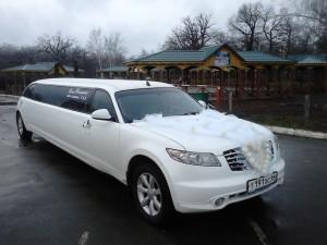 Лимузин - жемчужина свадьбы