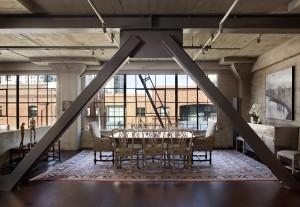 Металлоконструкции в дизайне интерьера