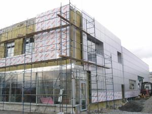 Новое в строительстве — навесной вентилируемый фасад