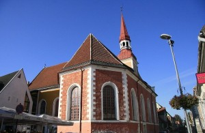 Церковь Святой Элизабет в городе Пярну