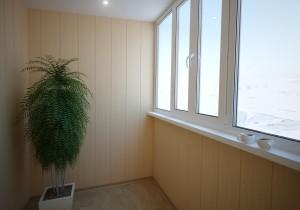 Грамотная отделка лоджии и балкона