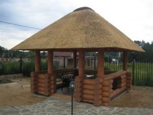 Камышовая крыша - особенности изготовления