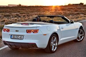 Компания Chevrolet представила новый Camaro в кузове кабриолет