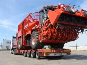 Особенности международных негабаритных грузовых автоперевозок