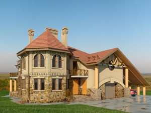 Разновидности крыш частных домов по форме