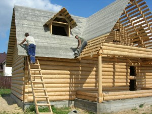 Строительство крыши дома своими силами