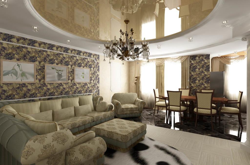 Устройство традиционной гостиной