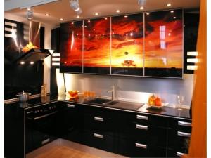 Черная кухня — стильная мебель для креативных людей