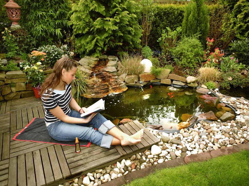 Декоративный пруд – свой маленький райский уголок!
