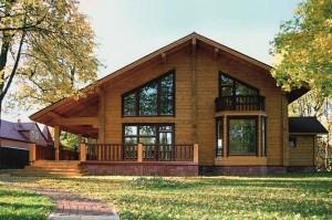 Деревянные дома из сухого профилированного бруса
