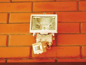 Наружное освещение дома, датчик света для освещения