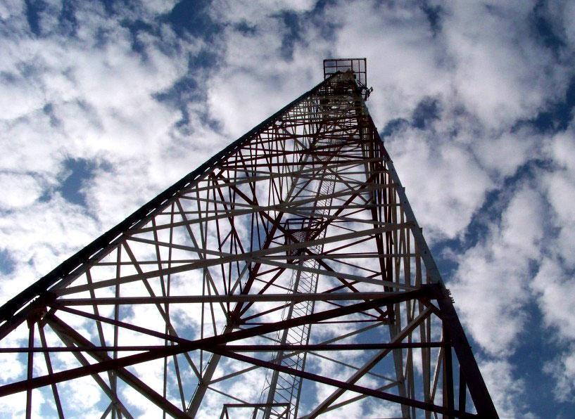Плотность мобильной связи на земле