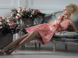 Вечернее платье — неизменный атрибут истинной леди