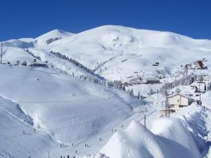Зимняя сторона Черногории