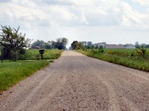 Дороги с щебеночным покрытием