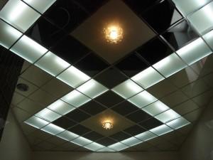 Каким может быть подвесной потолок