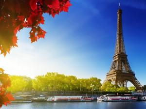 Летняя туристическая Франция