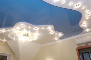 Натяжные потолки: основные разновидности