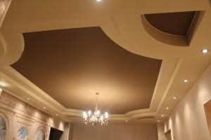 Натяжные тканевые и ПВХ потолки