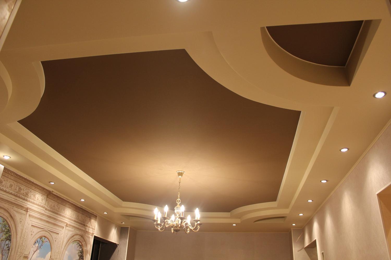 потолки из гипсокартона цены