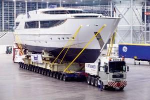 Особенности перевозки яхт и катеров автотранспортом