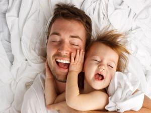 Папа и малыш – играем вместе!