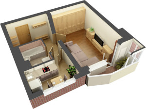 Разработка дизайн-проекта квартиры