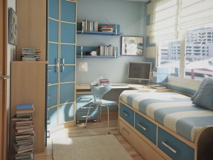 Советы, как зрительно сделать маленькую комнату больше