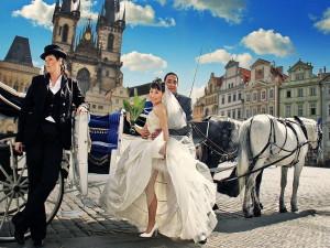 Свадьба в Праге - городе влюблённых