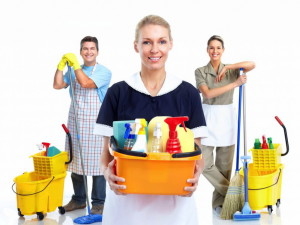 С уборкой помогут профессионалы