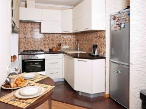 Угловые кухни – лучшее решение для маленьких помещений