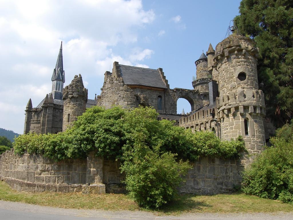 Замок Лёвенбург – ностальгия по средневековью