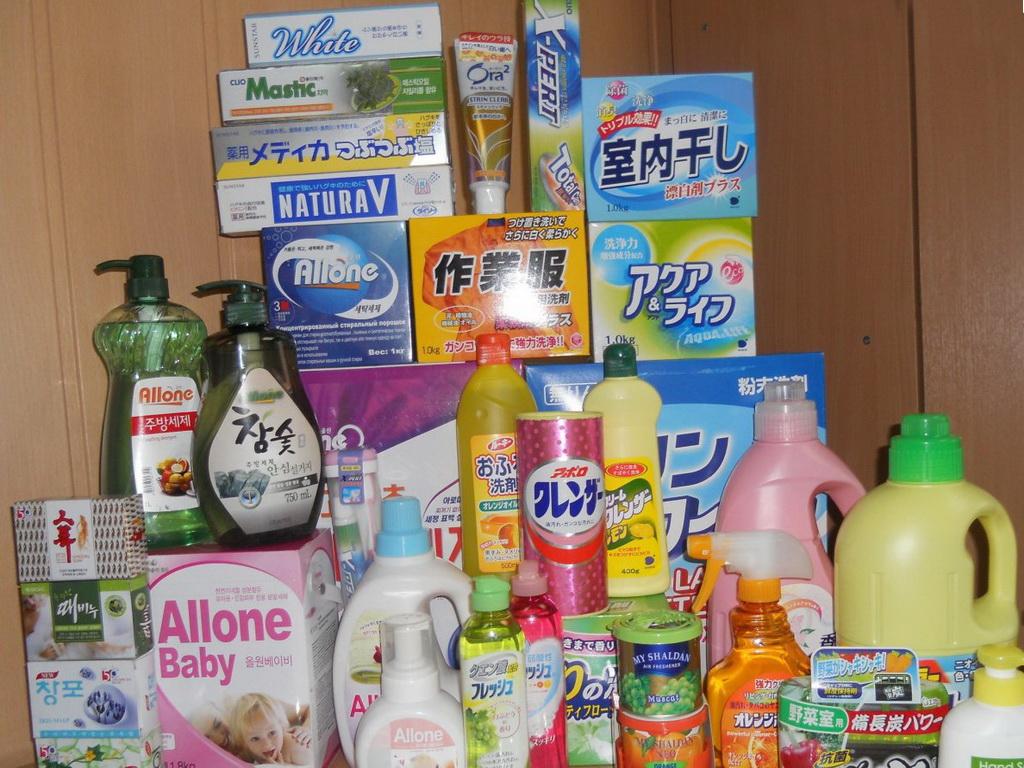 Что общего между японскими косметическими средствами и бытовой химией, и аналогичными изделиями из Кореи?