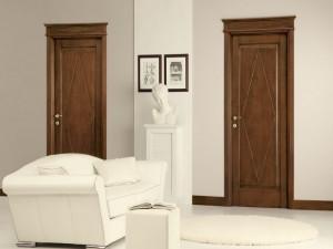 Двери из массива дерева – роскошь в интерьере
