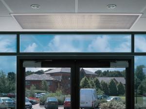 Энергосбережение: тепловая завеса