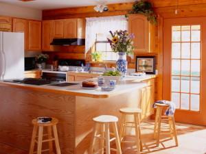 Главное помещение в дома — кухня