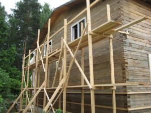 Как можно использовать строительные леса?