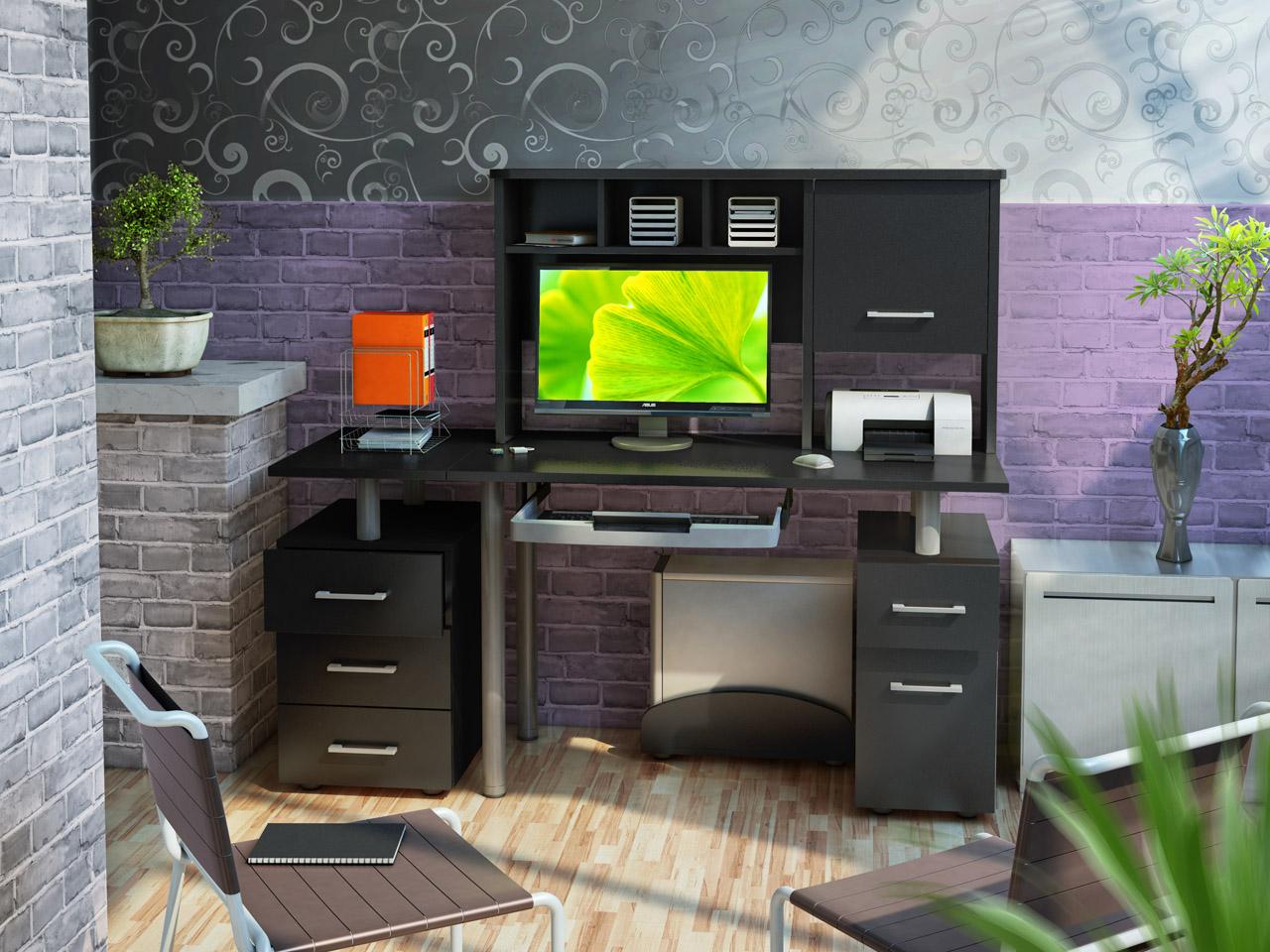 Компьютерные столы – многофункциональный предмет мебели