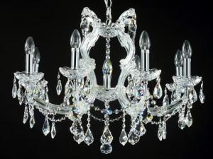 Неповторимые хрустальные люстры и светильники
