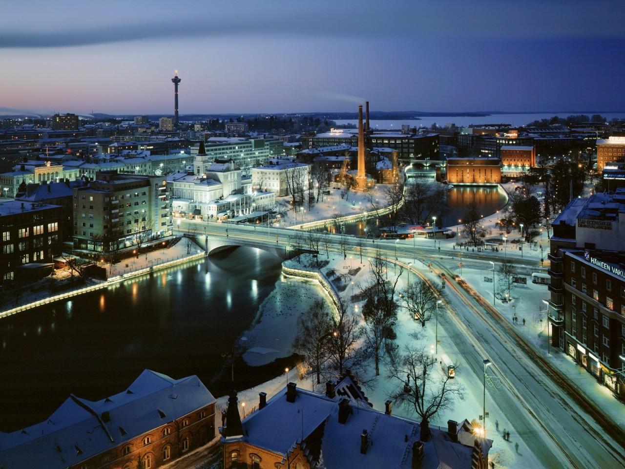 Финляндия является одним из лучших мест для отдыха