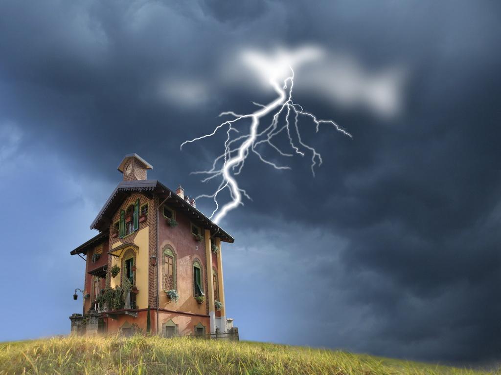 Молниезащита для загородных домов