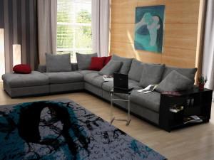 Удобный диван – это центр вашей гостиной!